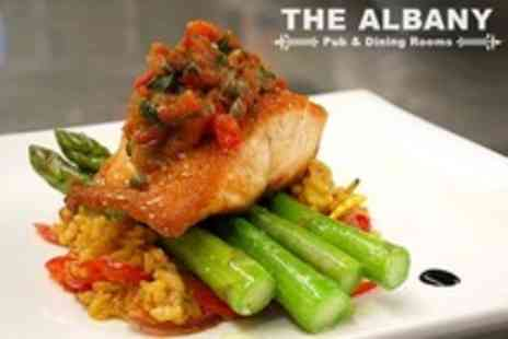 The Albany - Two Courses of Modern Pub Dining For Two - Save 56%