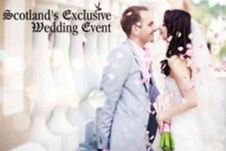 Scotlands Exclusive Wedding Event - Two Tickets With Programmes - Save 38%