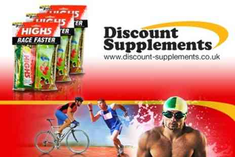Discount Supplements - Three High5 Race Faster Energy Packs - Save 67%