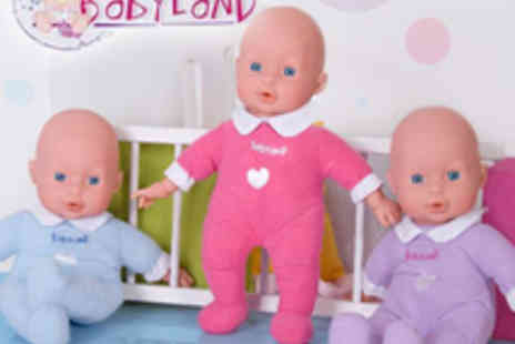 Babyland - 30cm Soft Doll With Sounds - Save 46%