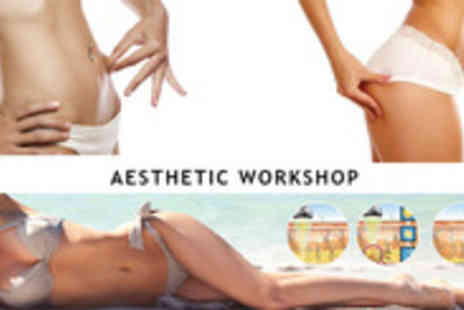 Aesthetic Workshop - Become a beautiful new you with this ultrasound cavitation & infrared treatment - Save 91%