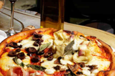 Pinocchio Bournemouth - Two Pizza or Pasta Dishes with Two Glasses of Wine - Save 50%