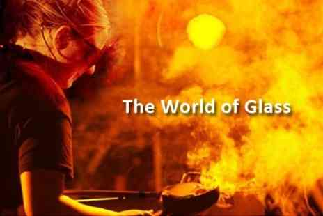 The World of Glass - Two Adult Tickets With Two Lunches - Save 59%