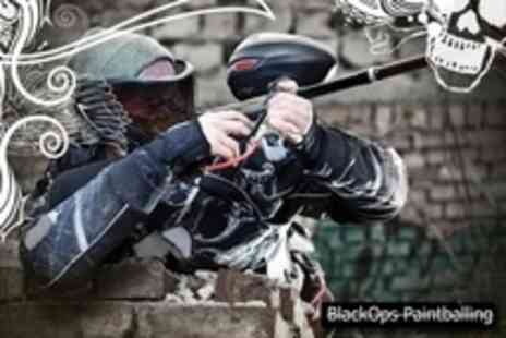 BlackOps Paintballing - Paintballing For Two With 100 Pellets Each - Save 82%