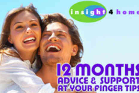 Insight4Home - 12 Month Subscription to Motivational Website - Save 50%