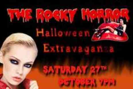 Thinking Bob - VIP Rocky Horror Extravaganza experience including a glass of bubbly, Halloween feast - Save 63%
