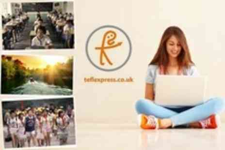 TEFL Express - TEFL Online 160 Hour Premier Plus Course With Planning and Teaching Tools Plus Professional Development Guide - Save 88%