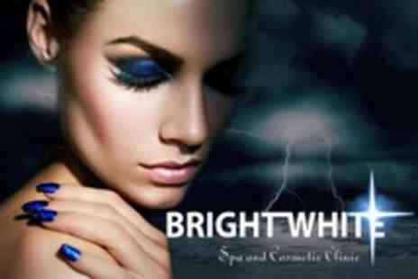 Bright White Spa and Cosmetic Clinic - Addiction Gel Manicure Or Pedicure  or Both - Save 77%