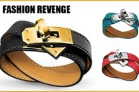 Fashion Revenge - Get Stylish this Winter with This Double Tour Bracelet - Save 92%