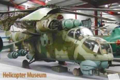 The Helicopter Museum - Entry For Family of Five - Save 58%