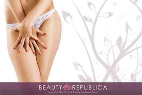 Beauty Republica - Brazilian or Hollywood Wax - Save 64%