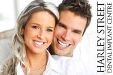 Harley Street Dental Implant Centre - Dental Implant With Crown - Save 60%