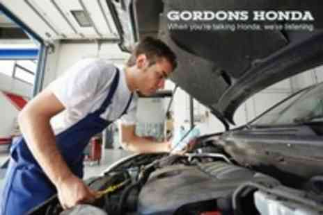 Gordons Honda - MOT With Wash and Vac Plus Health Check and Valuation - Save 54%
