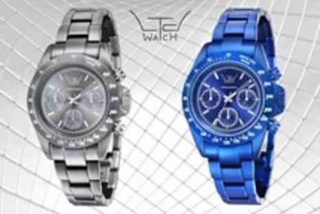 LTD Watches - Limited Edition LTD Aluminium Chronograph Unisex Watch - Save 74%