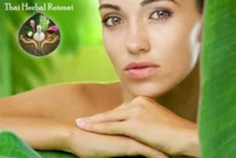 Thai Herbal Retreat - Exotic Thai Facial, Aromatherapy Facial, Luxury Manicure or Luxury Pedicure - Save 50%