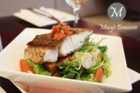 Macys Brasserie - Two Courses Fine Dining Fare For Two - Save 60%