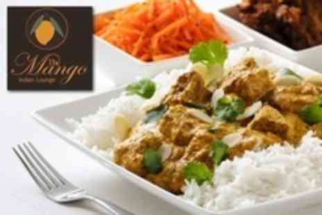 The Mango Indian Lounge - Indian Meal For Two With Wine Plus Rice or Naan - Save 59%