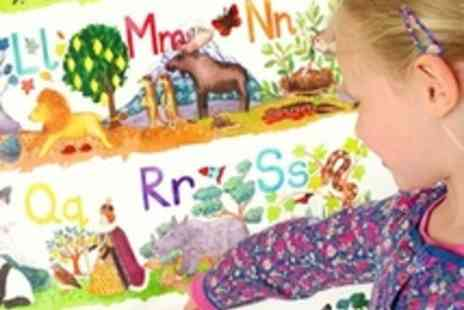 Really Giant Posters - 2 giant posters  teach your toddler the alphabet and numbers - Save 50%