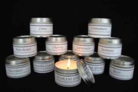 The Little Candle Company - Four scented candles make your house smell divine - Save 50%