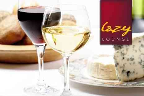 Lazy Lounge - Evening of Wine Tasting for Two with Canapés for £10 - Save 66%