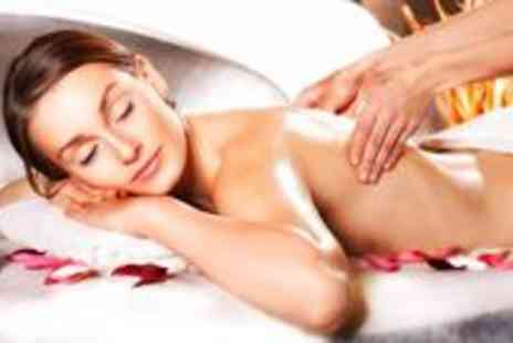 Ego Hair Salon - One hour aromatherapy or deep tissue massage and a luxury facial - Save 75%