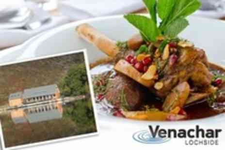 Venachar Lochside - Two Course Scottish Meal For Two - Save 52%