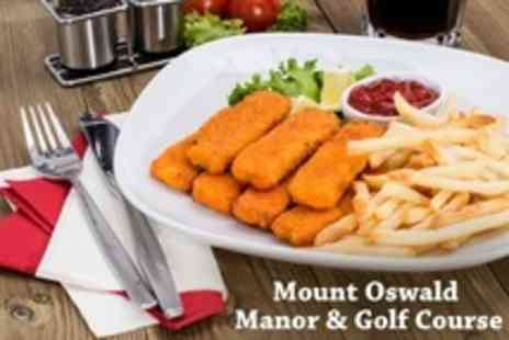 Mount Oswald Manor - Homemade Lunch For Two - Save 50%
