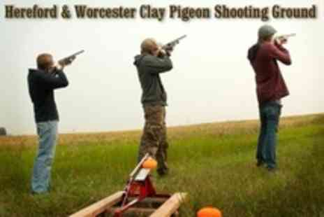 Hereford & Worcester Shooting - Clay Pigeon Shooting Lesson For One - Save 42%