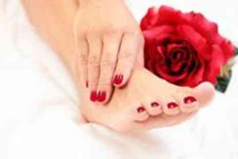 CutieCool Nails - Shellac manicure and pedicure - Save 70%