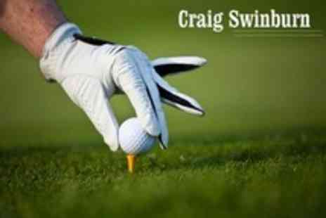 Craig Swinburn - Three PGA Golf Lessons With Video Swing Analysis - Save 56%