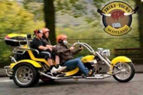 Trike Tours Scotland - Chauffeured Trike Tour and Photoshoot For Two - Save 63%