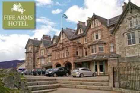 Fife Arms Hotel - Two Night Stay For Two With Dinner, Sparkling Wine and Breakfast - Save 51%