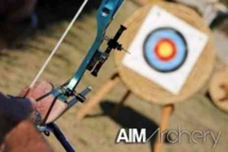 Aim Archery - Two Hour Archery Lesson For One - Save 60%