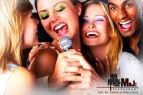 Moji restaurant - Three Karaoke Hours For Up to Seven People - Save 89%