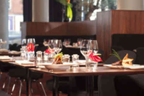 The Hilton Manchester - Two Course Lunch for Two with Champagne - Save 52%