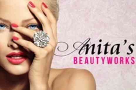 Anitas Beauty Works - Luxury Manicure With Shellac - Save 59%