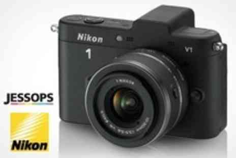 Jessops - Nikon 1 V1 Compact Camera With 10 to 30mm Lens - Save 33%