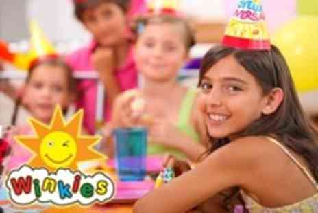 Winkies - Party For Up to Eight Children Including Hot or Cold Buffet - Save 30%