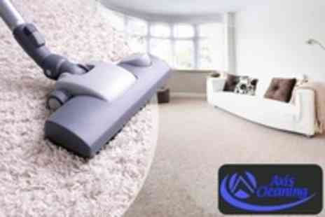 Axis Cleaning - Carpet Steam Clean and Shampoo in Two Rooms - Save 68%