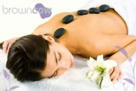 Brown Cow Salon - One Hour Hot Stone Massage - Save 55%