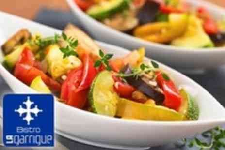 La Garrigue - Two Courses of French Fare For Two With Coffee For Lunch - Save 37%