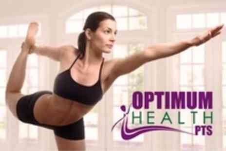 Optimum Health PTS - Six Week Pilates Course - Save 62%