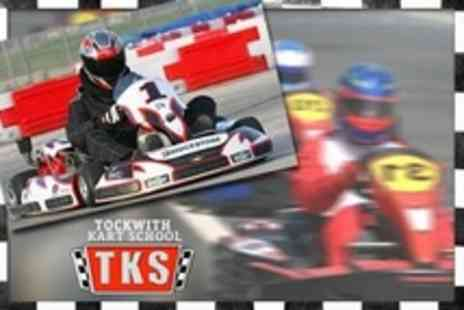 Tockwith Kart School - 30 Laps of Karting For One Two Five - Save 53%