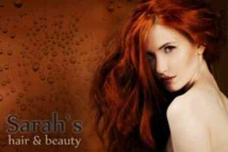 Sarahs Hair and Beauty - Full Head Highlights or Colour With Restyle - Save 69%