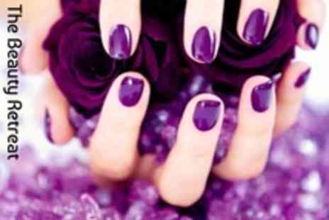 The Beauty Retreat - Luxury Gelish Manicure and Pedicure - Save 61%