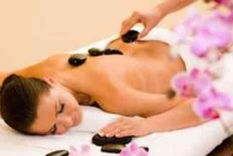 Rotherham Holistic - Hot stone back massage prescription facial plus a manicure with gel polish - Save 74%