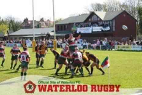 Waterloo Rugby Club - Match Tickets for Two with Two Course Lunch Coffee and Programme - Save 61%