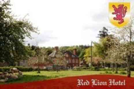 The Red Lion Hotel - Two Night Stay For Two With Breakfast and Bottle of Wine - Save 54%