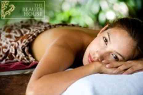 The Beauty House - Back Massage and Indian Head Massage Plus Mini Manicure and Pedicure - Save 65%