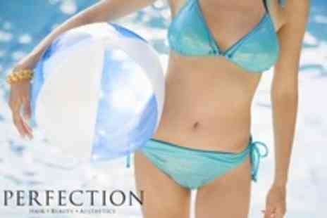 Perfection Beauty - Six IPL Hair Removal Sessions on Medium or Large Area Such as Half Legs or Bikini - Save 93%